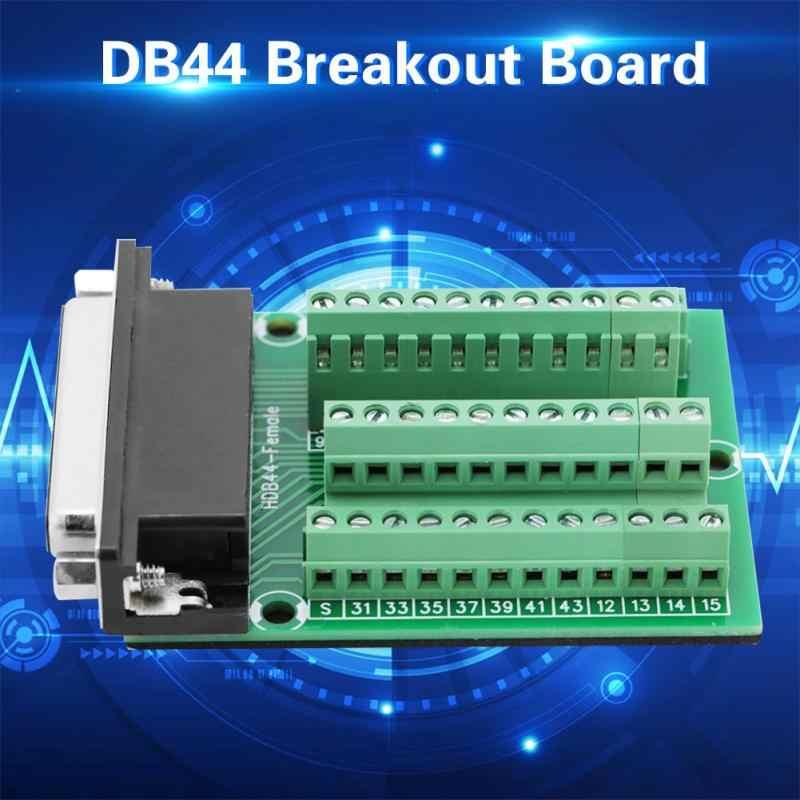 DB44 DB44-M2-Mini メスコネクタ端子ブレイクアウト PCB Borad