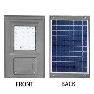 Image 5 - Smuxi 20 w 태양 전원 된 거리 빛 산책로 조명 브래킷 야외 정원 보안 램프와 원격 컨트롤러
