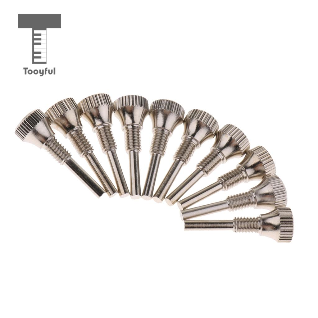 Tooyful 10 Pcs of Set Trumpet Repairing Parts Positioning Screws for Trumpet Lovers