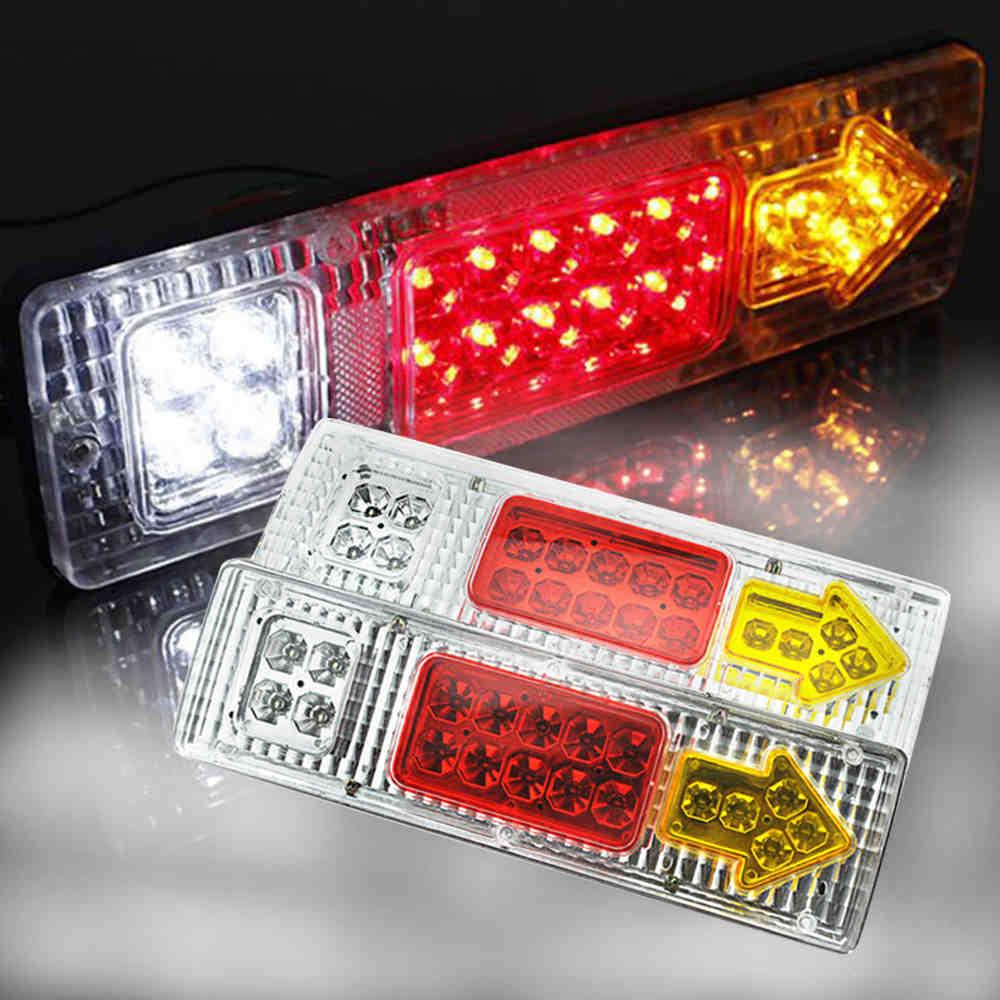 2 PCS Waterproof 12V 24 Truck LED Tail Light Rear Lamp Stop Reverse Safety Indicator Fog Lights for Trailer Truc 8 20 19 46 LED harley davidson headlight price
