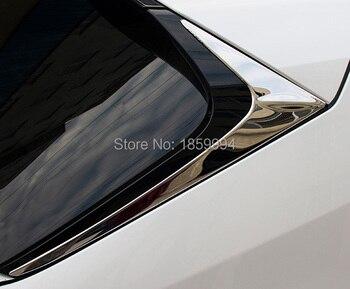rear Tail Window Trim Stainless Steel Styling Sticker For Lexus NX 200 200t 300h