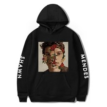 New Shawn Mendes Hoodie Autumn Women Hoodies Print Hip Hop
