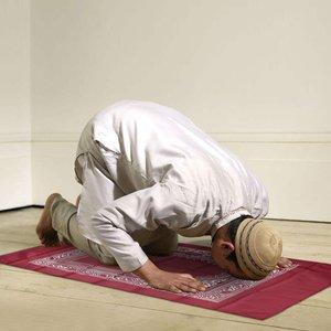 Image 5 - 100x60cm 레드 휴대용기도 깔개 무릎 꿇고 폴리 매트 이슬람 이슬람 방수기도 매트 카펫