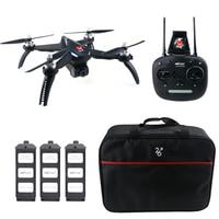 MJX B5W GPS 1080P WiFi FPV RC Drone RTF 3 Batteries + Bag Point Of Interesting Follow Waypoint Quadcopter Long Flight Time