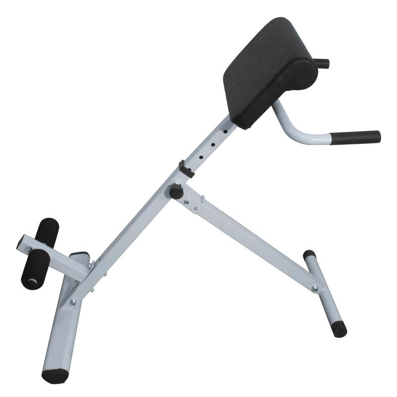 Accueil Fitness intérieur chaise romaine dos Muscle taille formation Table blanche Durable et résistant à l'abrasion appareil Abdominal