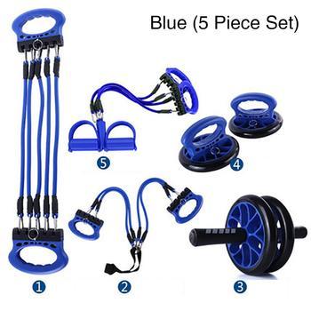 Fitness Equipment Set Accessory Chest Equipment Wrist Grip Wheel Push up Bracket Mat Exercise Fitness Equipment