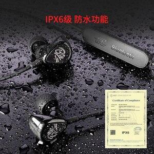 Image 3 - Kz Bte 1dd + 1ba 헤드셋 블루투스 무선 헤드셋 헤드폰/Aptx 스포츠 하이파이베이스 헤드폰 (휴대폰 및 음악 용)