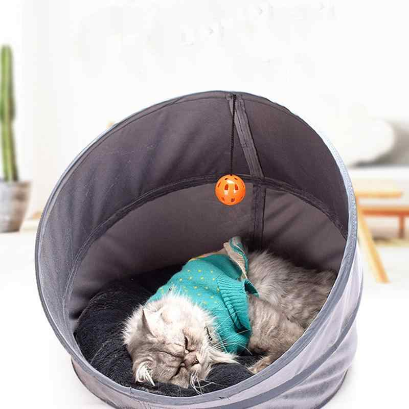 Высококачественный штабелированный тент для кошачьего туалета питомник для питомца мягкий домик для кошки для маленького котенка хлопковый Зимний Теплый Щенок щенка палатка S/M