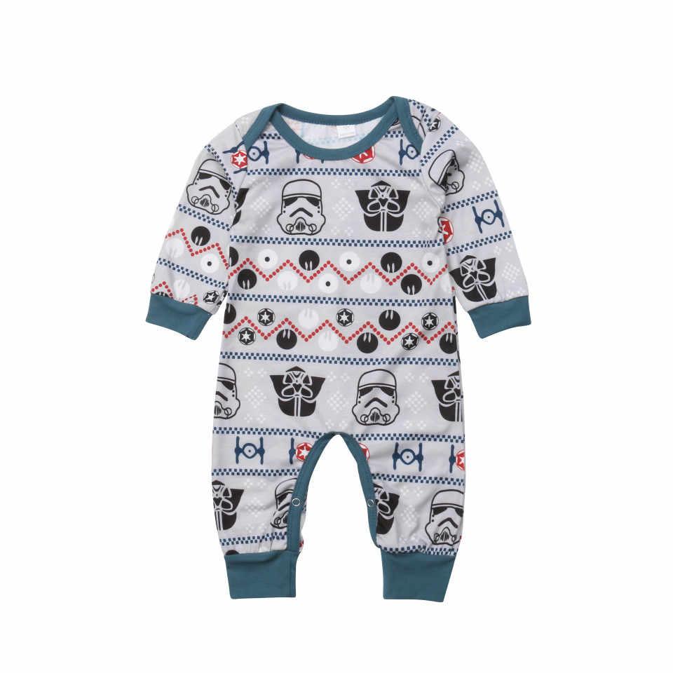 ... pudcoco Christmas Family Matching Star Wars Pyjamas Pajamas PJS Xmas  Sleepwear Nightwear boy girl christmas pajamas ... 33e5fe793bd2