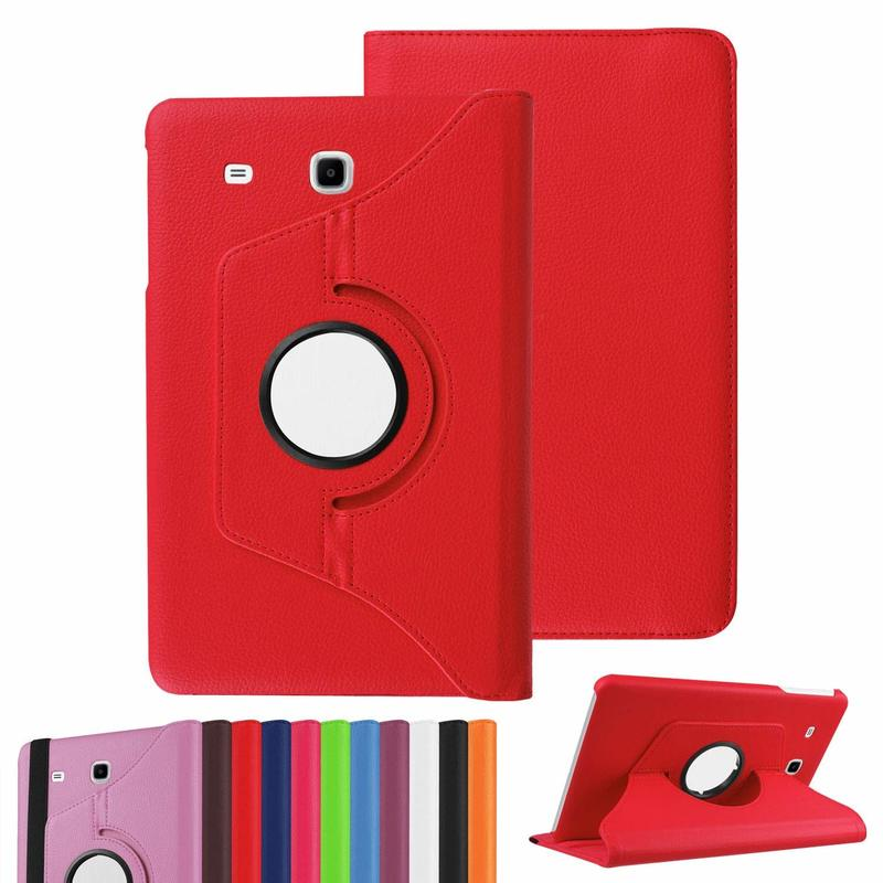360 Degree Rotating PU Leather Case Stand Cover For Samsung Galaxy Tab E 8.0 SM-T377 Case Tab E 8.0 Inch T375 T378 Tablet Case