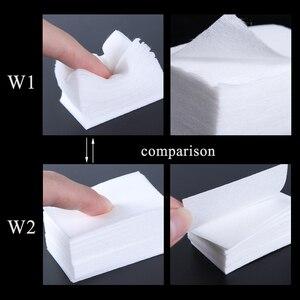 Image 3 - 1 pacote gel polonês removedor almofada toalhetes de unha limpeza de fiapos livre almofada de papel embeber fora removedor manicure algodão guardanapos envoltório ferramenta CH957 1