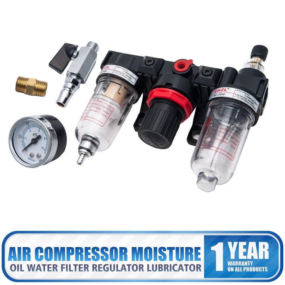 unidade 213psi manutencao lubrificador separador de agua redutor de pressao regulador de pressao de ar comprimido