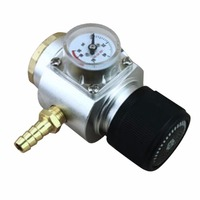 Home Brew CO2 Gas Regulator 0 90 PSI Keg Charger with 21*4 Thread for Beer Brewing