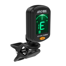 High Quality AT-01A Rotatable Clip-on Tuner LCD Display for Chromatic Guitar Bass Ukulele Violin недорого