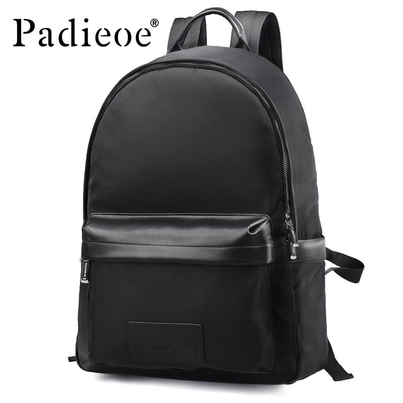 Padieoe Nylon Men mochila school bag Backpacks Luxury Brand Male Bagpack anti theft Fashion travel rucksack women Men's Daypacks