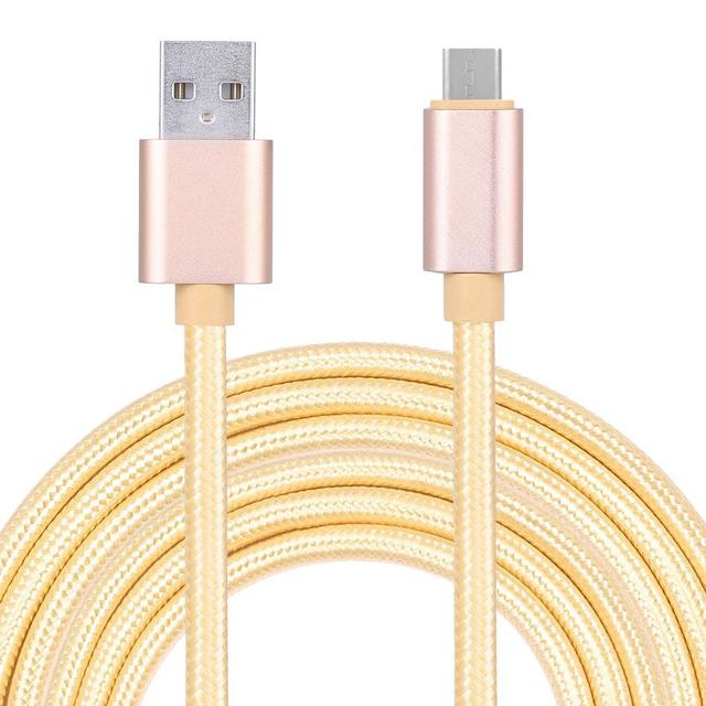 Coocheer Nylon Data Cable Braided Cable for Android