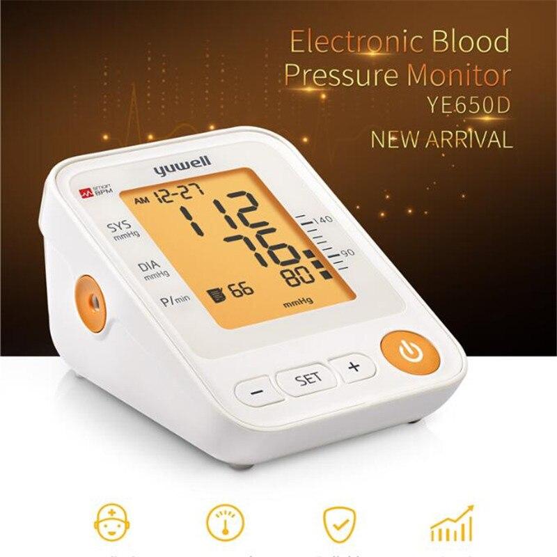 650D bras tensiomètre LCD numérique cardiofréquencemètre mesure automatique moniteur maison équipement de santé soins