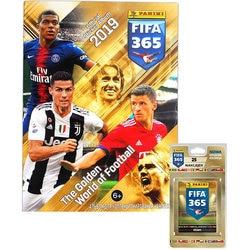 Альбом Panini FIFA 365-2019™ и блистер, 5 пакетиков с наклейками