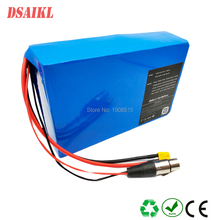 цена на Free shipping and EU US NO tax 1000W Eibke battery pack 48V 20Ah use Brand 18650 2900mah power cells with 54.6V charger