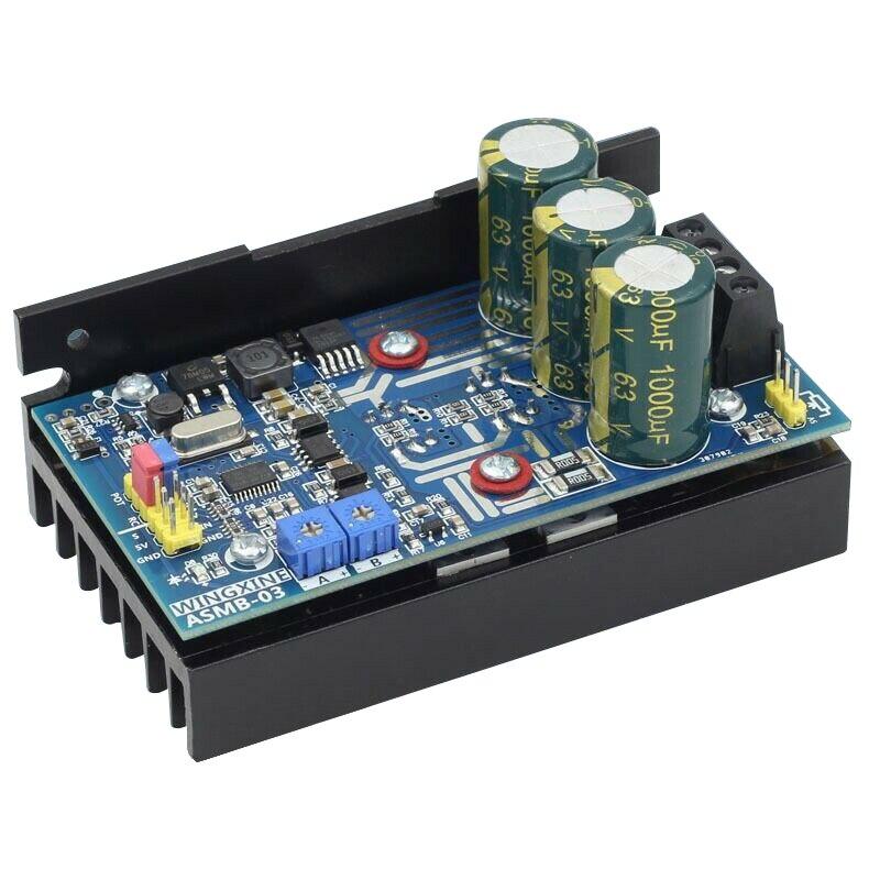Single Channel Servo Controller Board High Torque 1000N.M 8V-48V 20A For ASMB-03Single Channel Servo Controller Board High Torque 1000N.M 8V-48V 20A For ASMB-03
