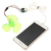 1 Set Electrical Mini Wind Generator Alternator DIY Kit Portable Emergency Mobile Phone Charger Micro Wind Turbine Motor