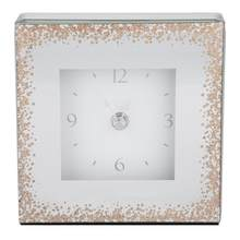 European Style Square Desk Clock Home Sitting Room TV Cabinet Furnishing Decoration(China)