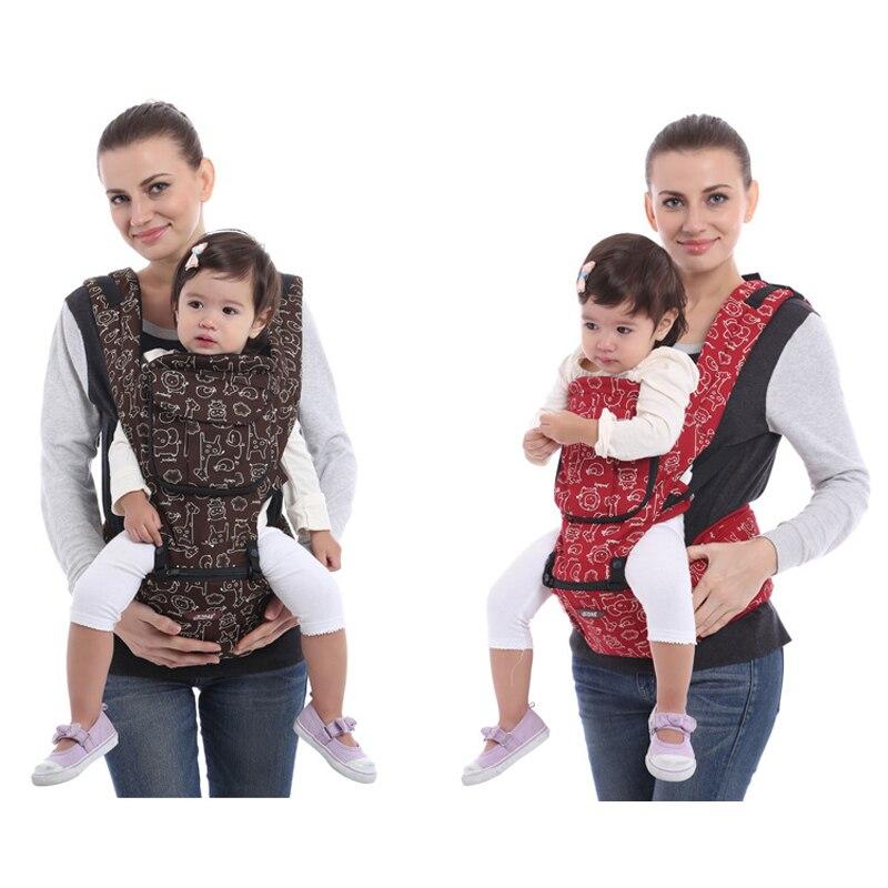 Porte-bébé multifonction amovible pour bébé à quatre positions 360 porte-bébé quatre saisons universel en coton porte-bébé porte-bébé Hipseat