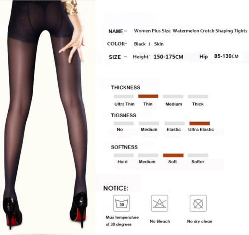 Summer Casual Plus Size Ultra Elastic Tights Stockings Lounge Wear Women Shaping Fishnet Pantyhose 1