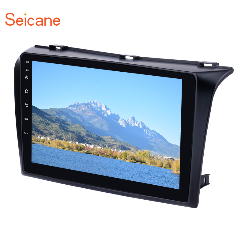 Seicane 9 inch 2Din Android 8.1 Car DVD <font><b>Multimedia</b></font> Player For 2004 2005 2006 <font><b>2007</b></font> 2008 2009 <font><b>Mazda</b></font> <font><b>3</b></font> Quad-core 1024*600 GPS Wifi image