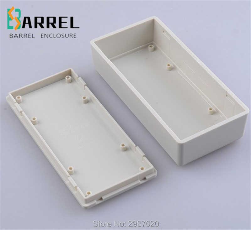121*58*32 ミリメートル小型のプラスチック電子プロジェクトエンクロージャ abs ワイヤージャンクションボックス電気 diy PCB ボード出口制御スイッチケース