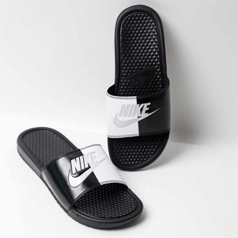 765e54147718 ... NIKE Benassi JDI Original Lovers Beach   Outdoor Sandals Footwear Super  Light Stability Support Sports Sneakers ...