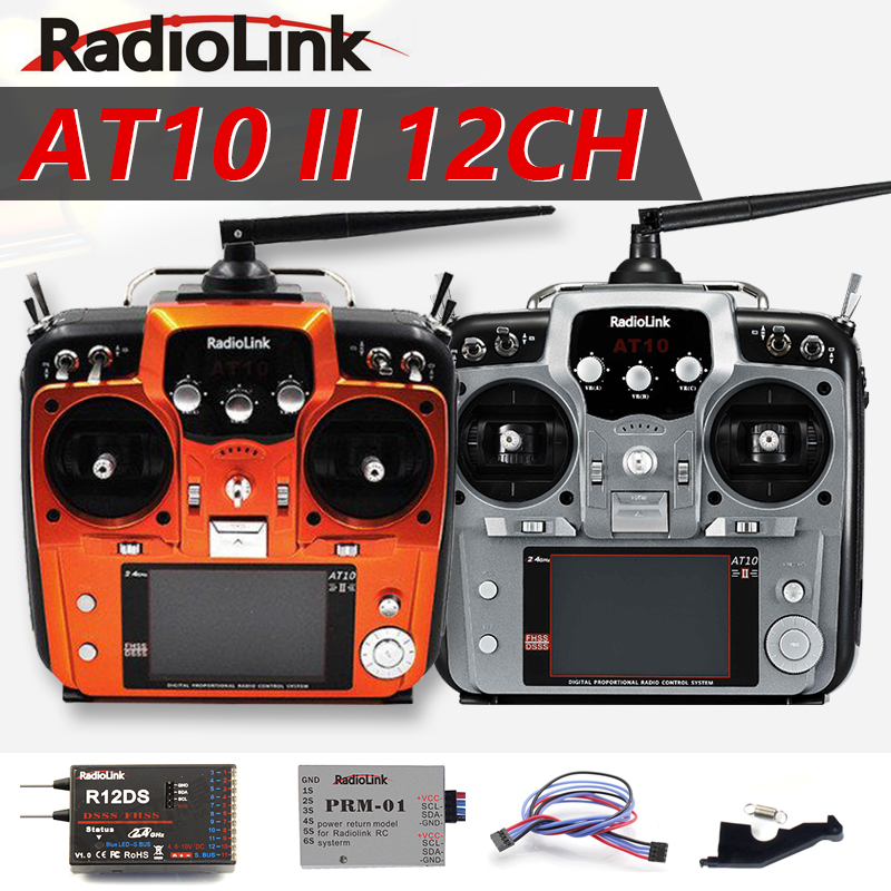 Original Radiolink At10 Ii 2 4ghz 12ch Rcremote