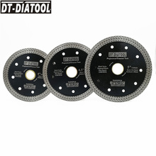 "1unit Dia 4"" 4.5"" 5"" Hot pressed Diamond Cutting Disc Mesh Turbo Wheel rim Segment Saw blade for Hard material granite tile"