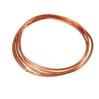 Tubo de Cobre blando OD de 2M, 4mm x ID, 3mm, para refrigeración, herramienta de fontanería, tubo de cobre para generadores, barra colectora, cable de distribución