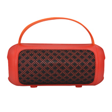 New bill of lading speaker wireless mobile phone Bluetooth portable outdoor square card subwoofer red