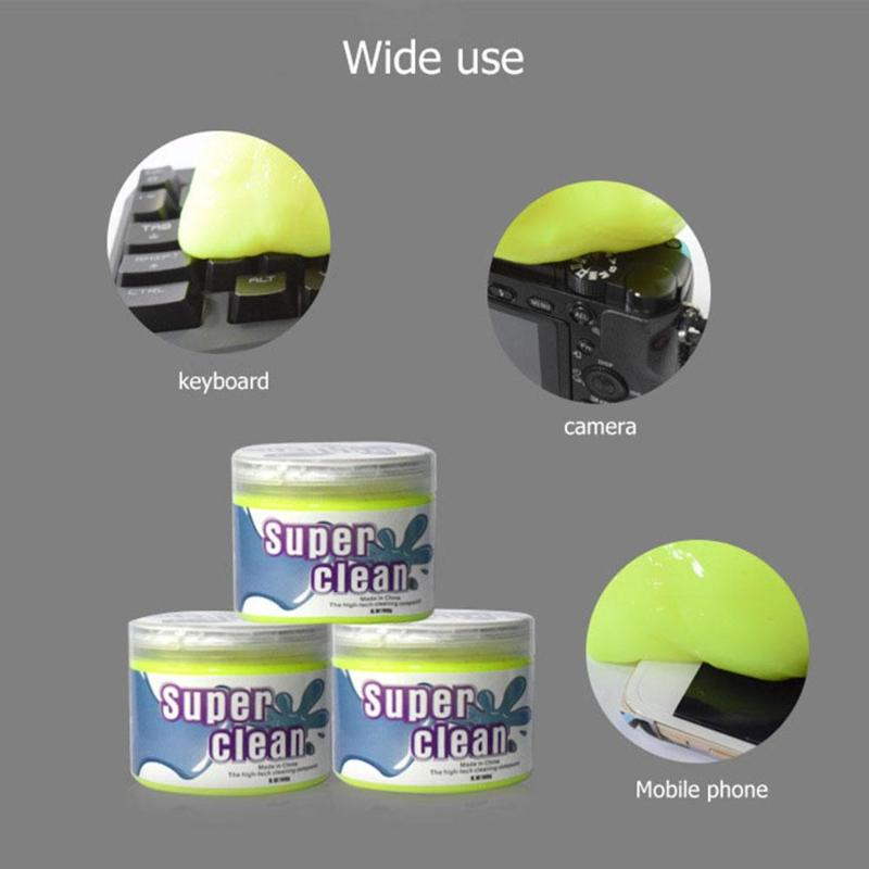 Dust Cleaner Compound Super Clean Slimy Gel Wiper For Phone Laptop PC Computer Keyboard Car Interior Panel High Quality Cleaner