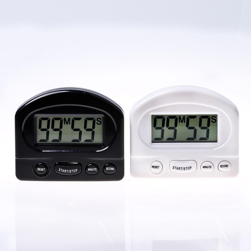 Kitchen Timer Kitchen Tools Gadgets Practical Kitchen Countdown Timer Alarm White Black Cooking Timer Alarm Clock 1 Pcs