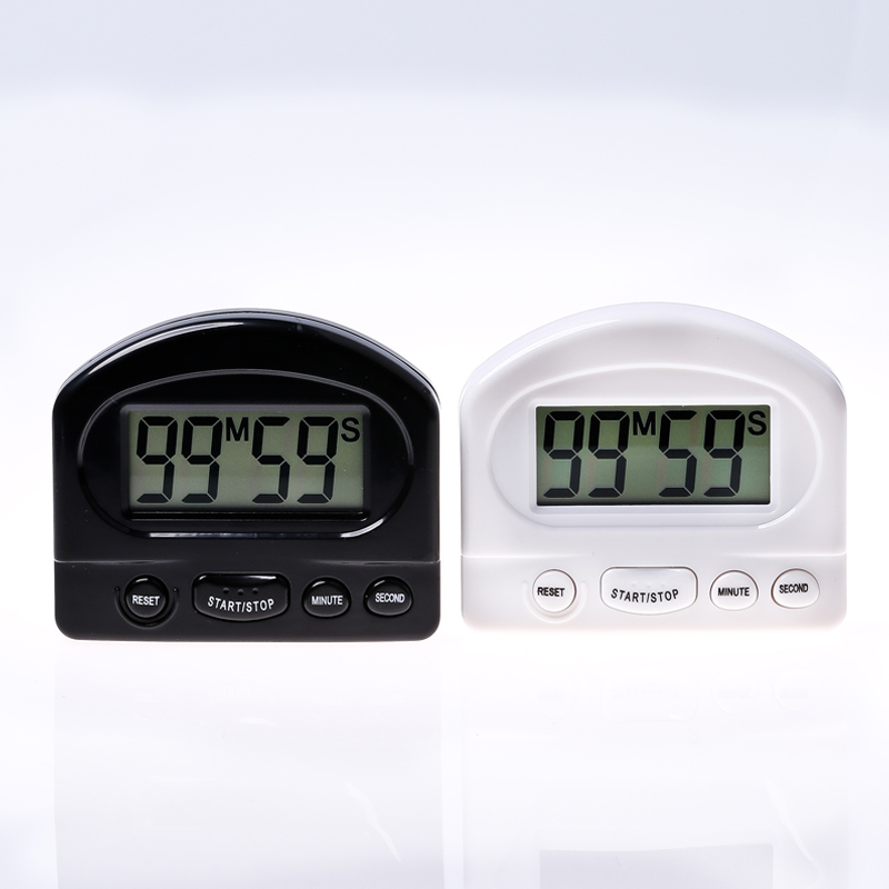 Kitchen Timer Kitchen Tools Gadgets Practical Kitchen Countdown Timer Alarm White Black Cooking Timer Alarm Clock 1 Pcs