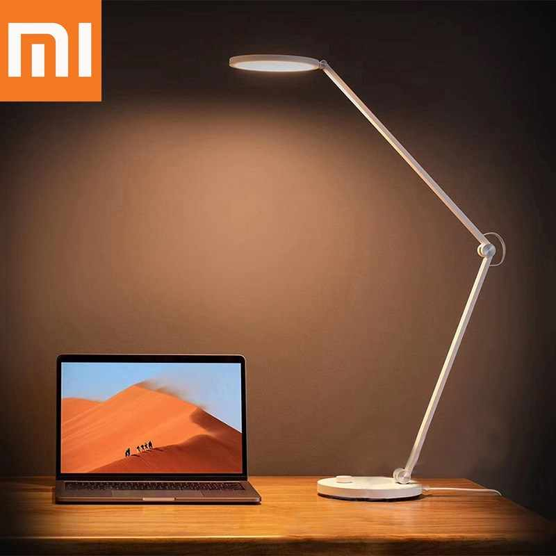 Xiaomi Mijia LED Meja Lampu Portable Light Eye Protection untuk Home Smart Remote Kontrol Lampu WIFI Bluetooth Lampu Meja cahaya