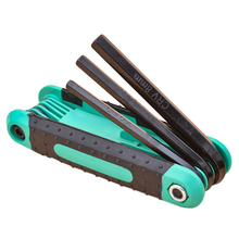 8 In 1 Folding Hexagon Key Hex Wrench Set 1.5Mm,2Mm,2.5Mm,3Mm,4Mm,5Mm,6Mm,8Mm Screwdriver Plum