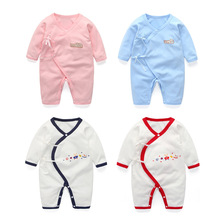 0-12  Month Super Soft Cotton Baby Unisex Rompers Overalls Newborn Clothes Long Sleeve Roupas de bebe Infantis Boy clothing Set стоимость