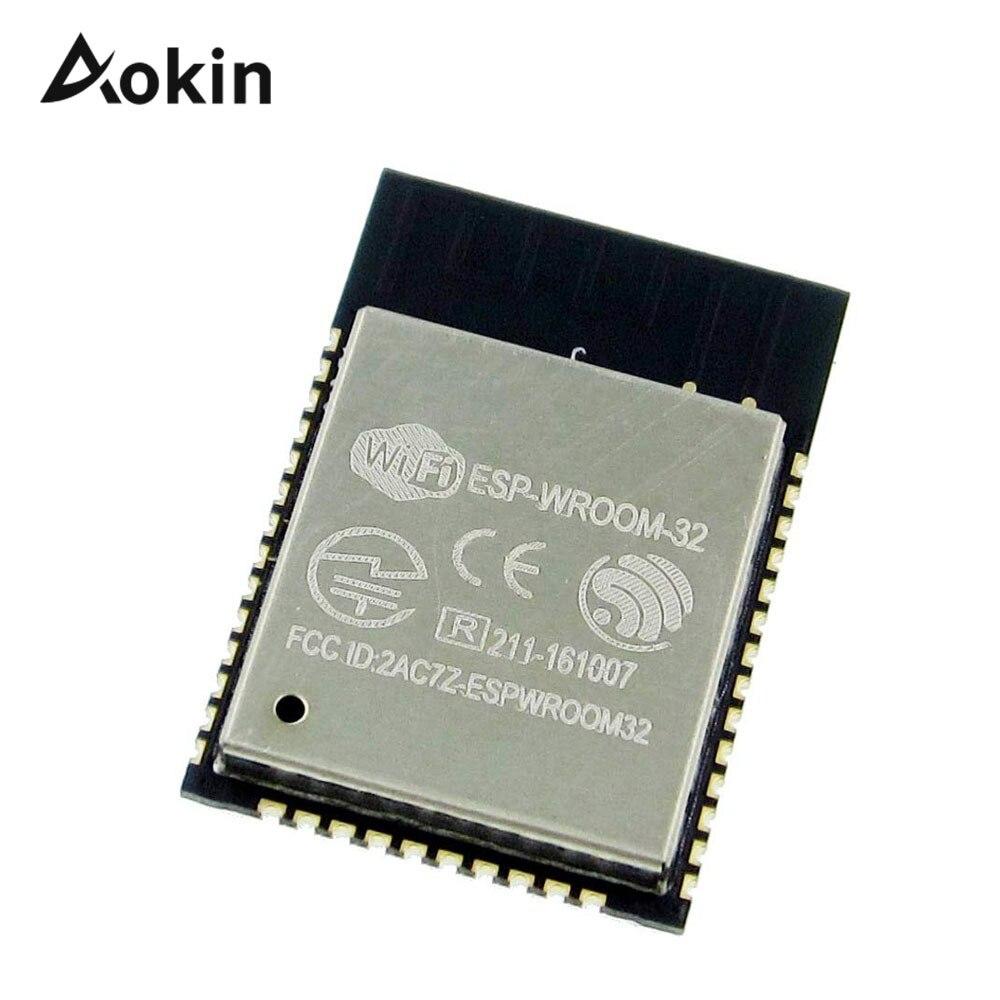 ESP32 ESP-WROOM-32 IoT wi-fi/WLAN BLE модуль ESP-32S плата адаптера ESP32-WROOM-32 32 Мбит 4 МБ SPI вспышка UART модель модуля esp32s