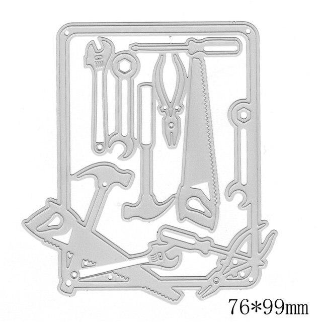 Nova Ferramenta de Reparo de Metal Corte Morre Stencils Para DIY Scrapbooking Álbum de Fotos de Papel Cartões De Artesanato Decoração Novo Modelo de Emboss