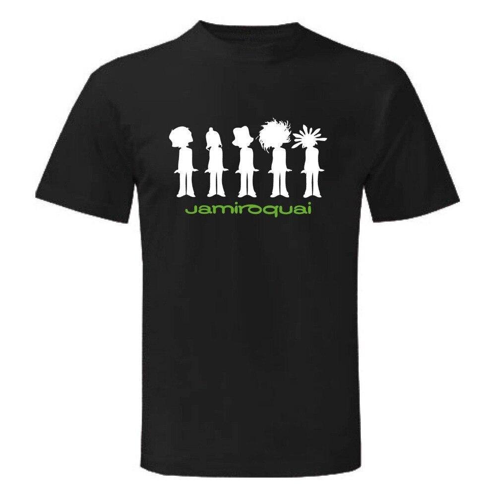 Short Sleeve Gift Crew Neck Mens Trend Maglietta Jamiroquai Funk Zomer Shirts