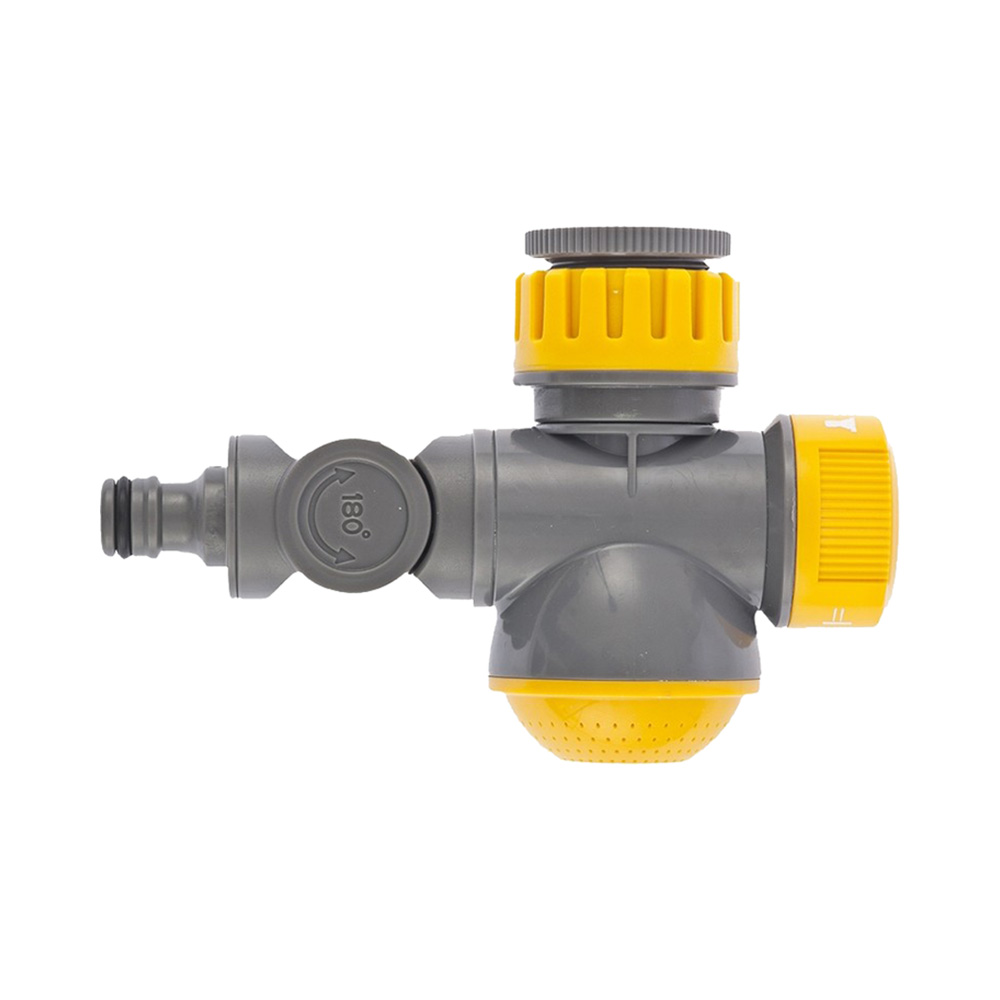Garden Water Connectors PALISAD 66253 Connector Plastic Round Tap Connectors sd16 3 pin waterproof connector ip68 led panel mount connectors automotive connectors 3 pin cable connector plug socket