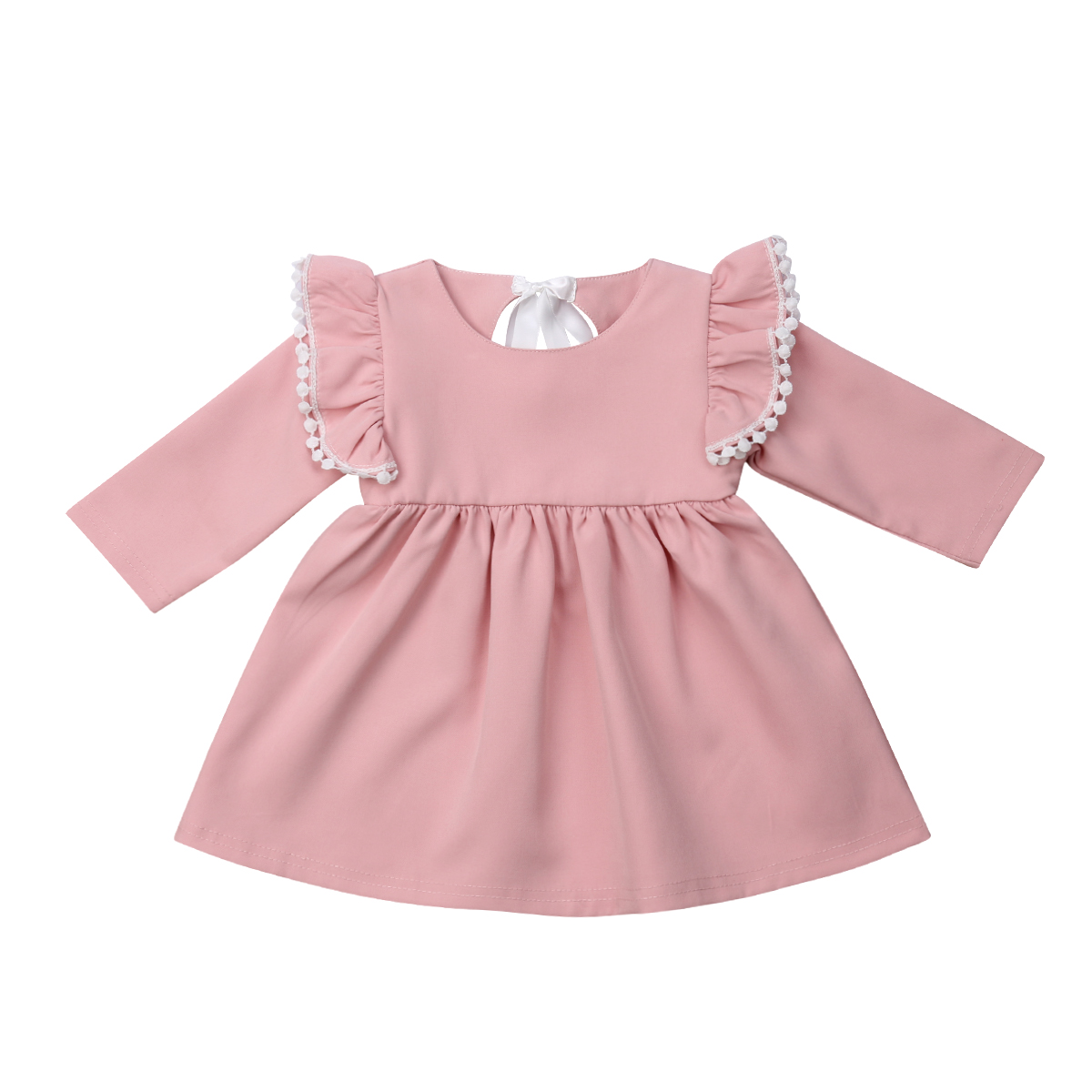 Baby Dressing Gown: 2018 New Autumn Cute Princess Infant Baby Girls Dress