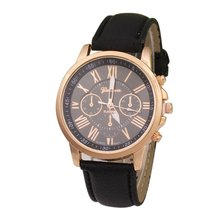 Fashion Europe And The United States Hot Leather Watch Female Casual Quartz