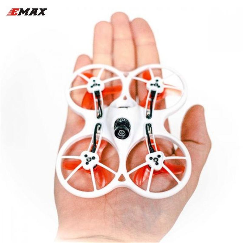 Emax Tinyhawk Indoor FPV Racing Drone F4 4in1 3A 15000KV 37CH 25 МВт 600TVL VTX 1 S Радиоуправляемый квадрокоптер БНФ RTF
