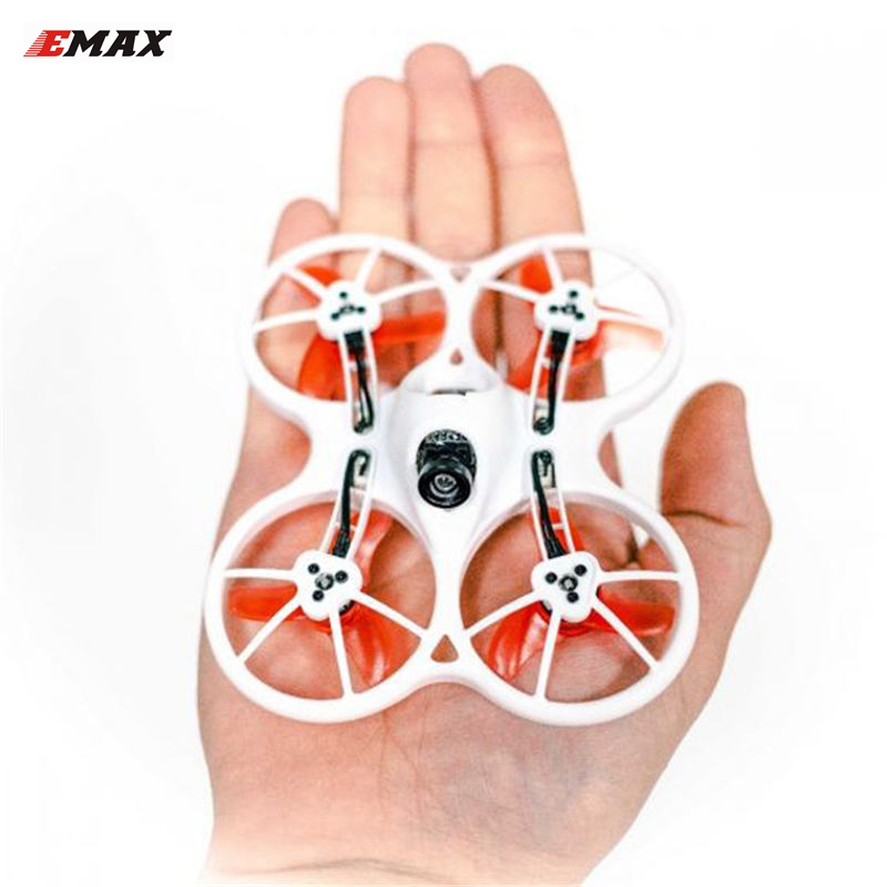 Emax Tinyhawk Intérieur FPV drone de course F4 4in1 3A 15000KV 37CH 25 mW 600TVL VTX 1 S quadcopter rc BNF RTF