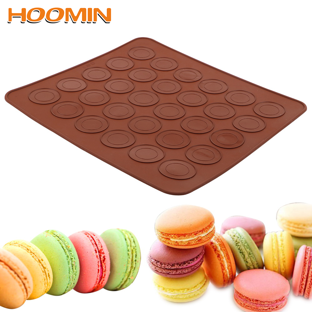 DIY Mold Baking Mat Silicone Macaron Macaroon Pastry Oven Baking Accessories